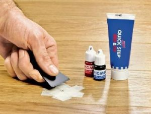 Как убрать царапины с линолеума