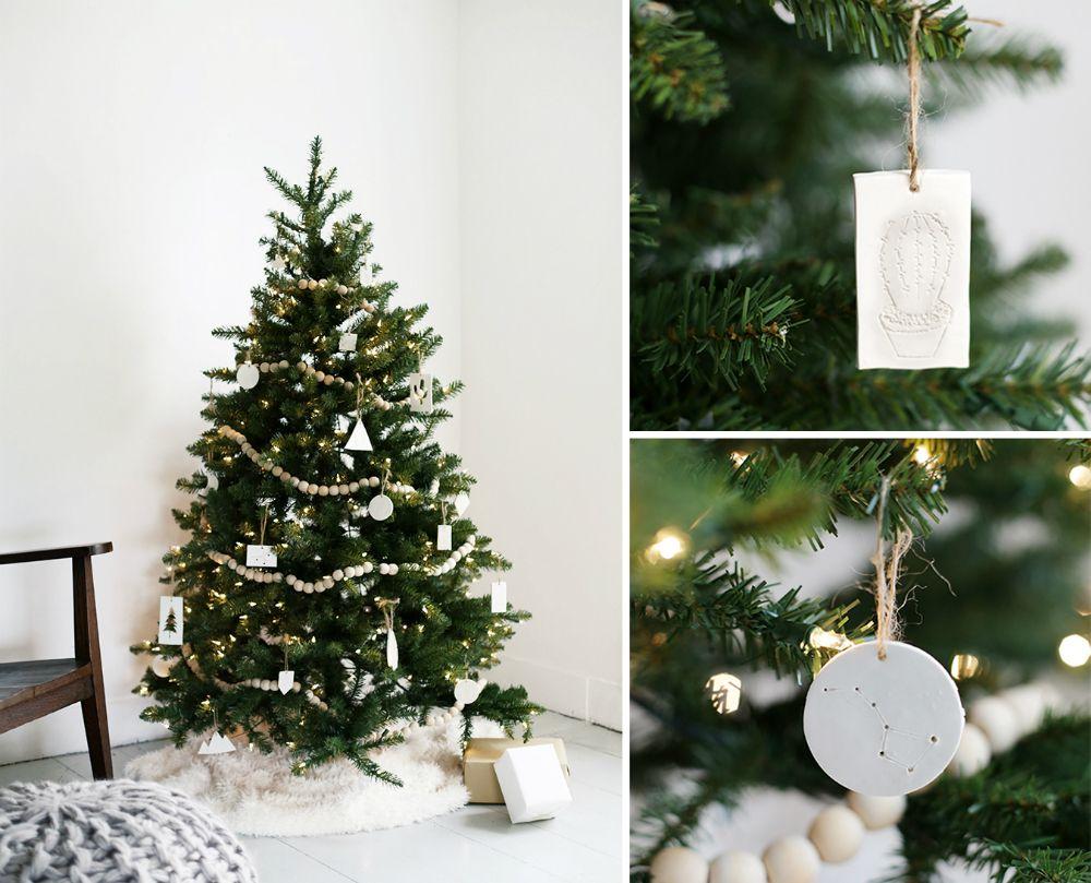 Как украсить маленькое дерево