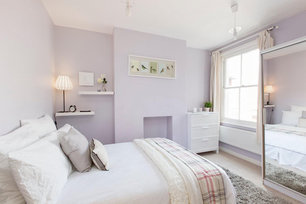 Какие пастельные тона можно использовать в создании дизайна спальни