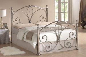 Кованые кровати из металла