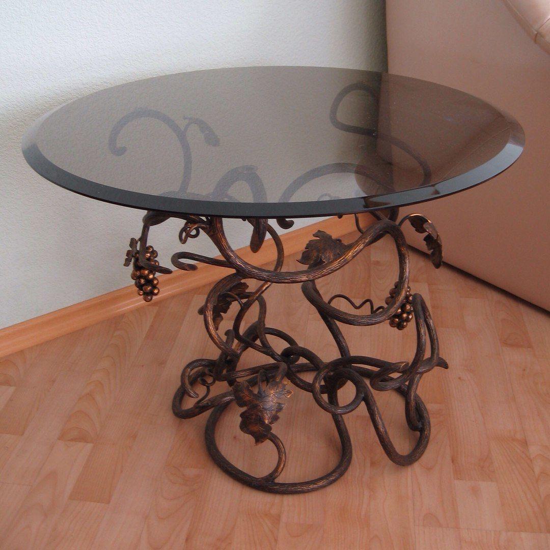 Кованый столик из металла своими руками.