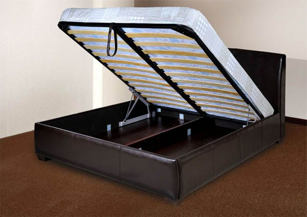 Кровать с подъемным механизмом самостоятельно