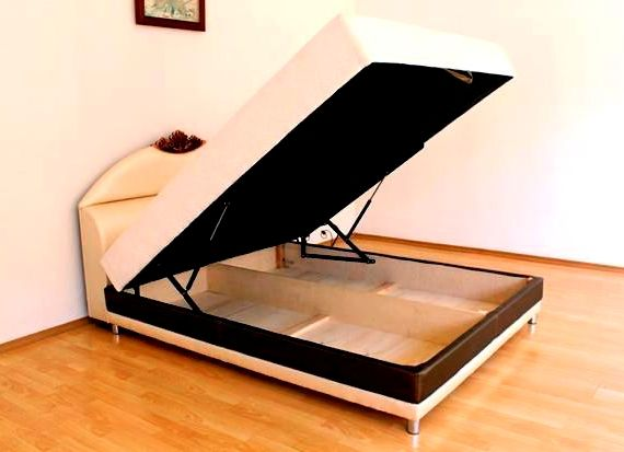 Кровать с подъемным механизмом своими руками