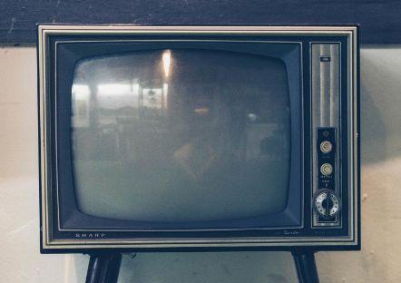 Старый телевизор.