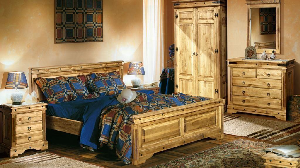 Мебель кантри для спальни.