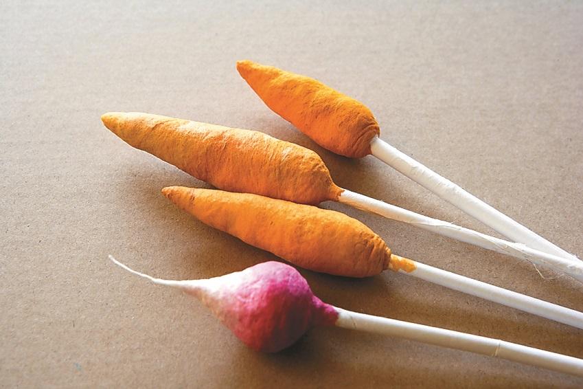Морковка и редис.