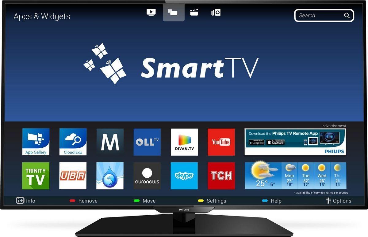 Philips смарт телевизор.
