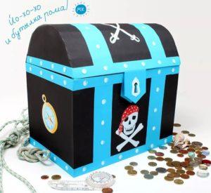 Пиратский сундук своими руками