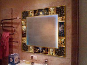 Рамка для зеркала своими руками