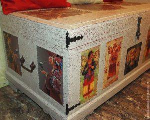 Реставрация сундука
