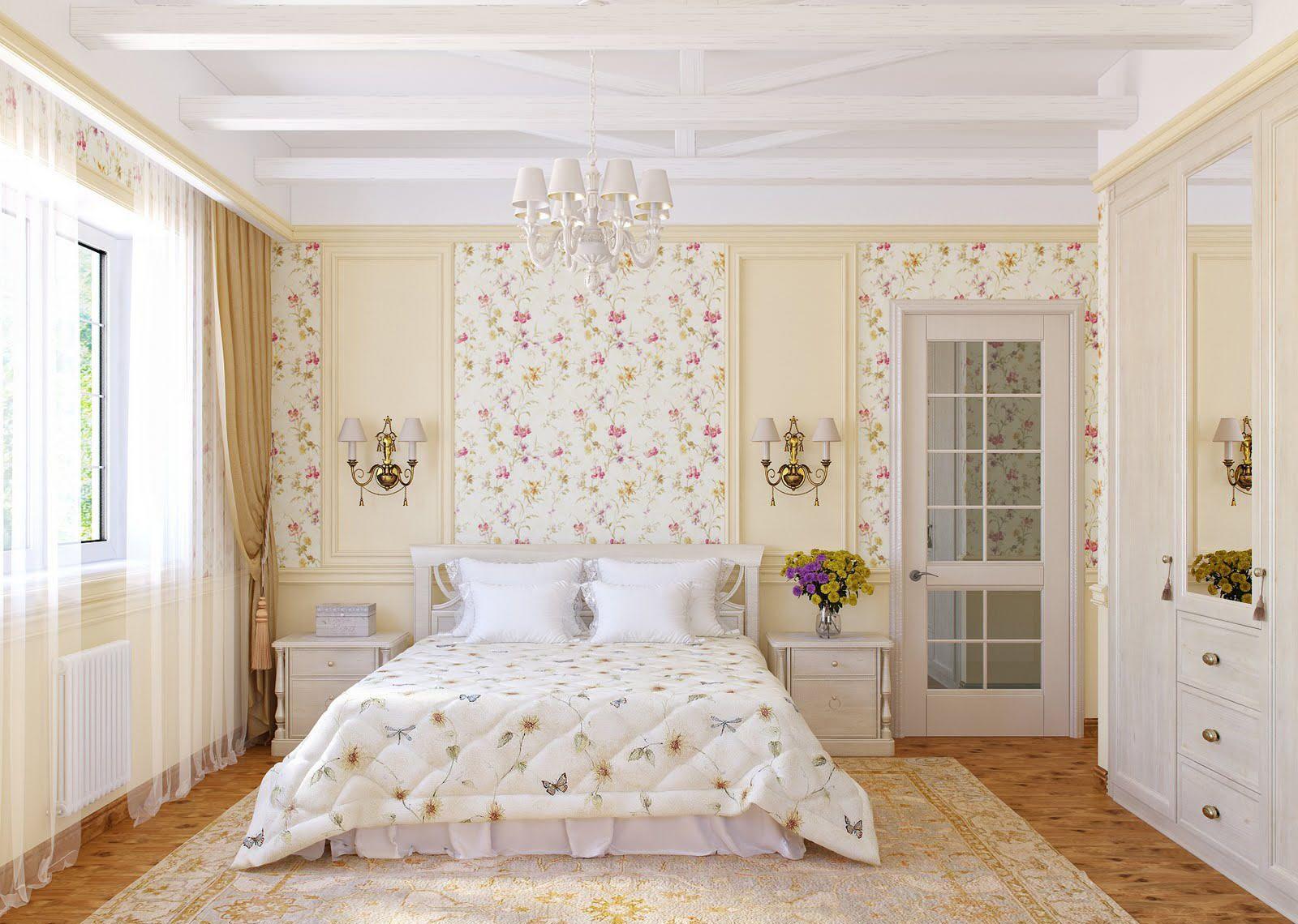Спальня прованс.