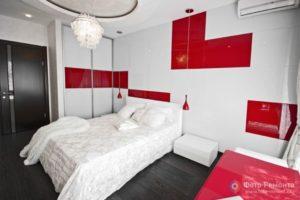 Спальня в белых тонах - сочетание цветов