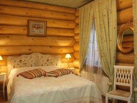 Спальня в русском стиле