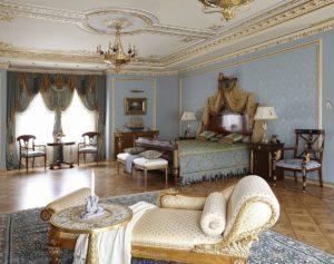 Спальня в стиле ампир.