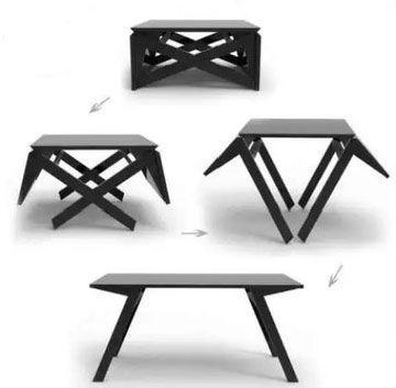 Особенности столов-трансформеров.