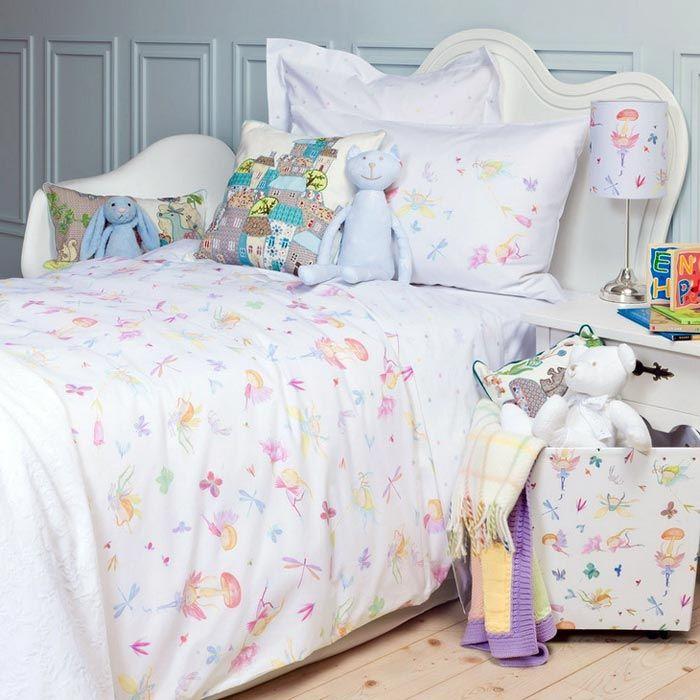 Текстиль в детской спальне.