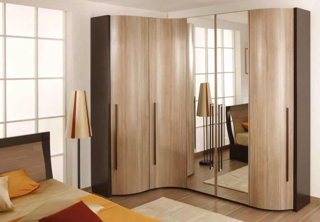 Угловой шкаф в спальню: дизайн, фото