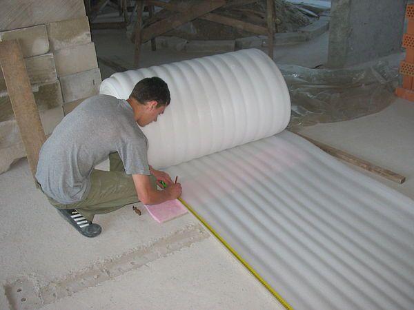 Утепление пола под линолеум на бетонный пол