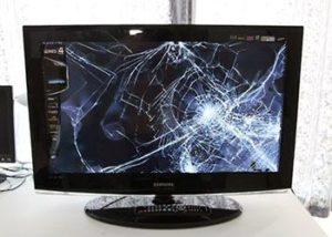 Разбитый жк экран.