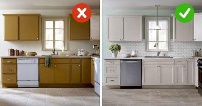 Замена фурнитуры кухонного гарнитура.