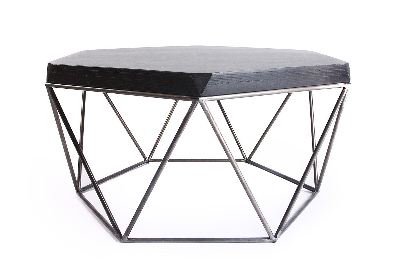 Журнальный стол из металла.