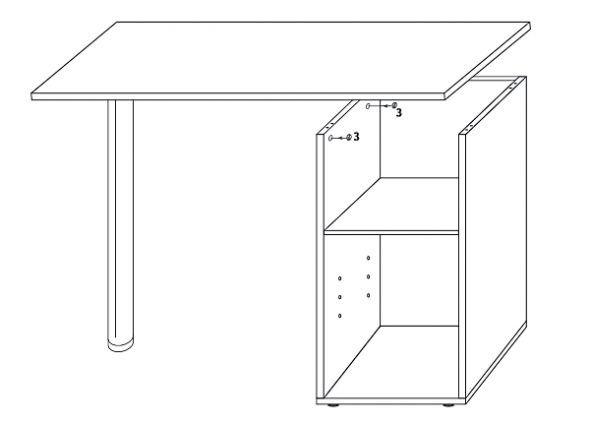 маникюрный стол своими руками чертежи и размеры