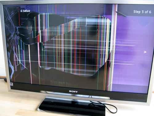 что можно сделать из разбитого телевизора жк