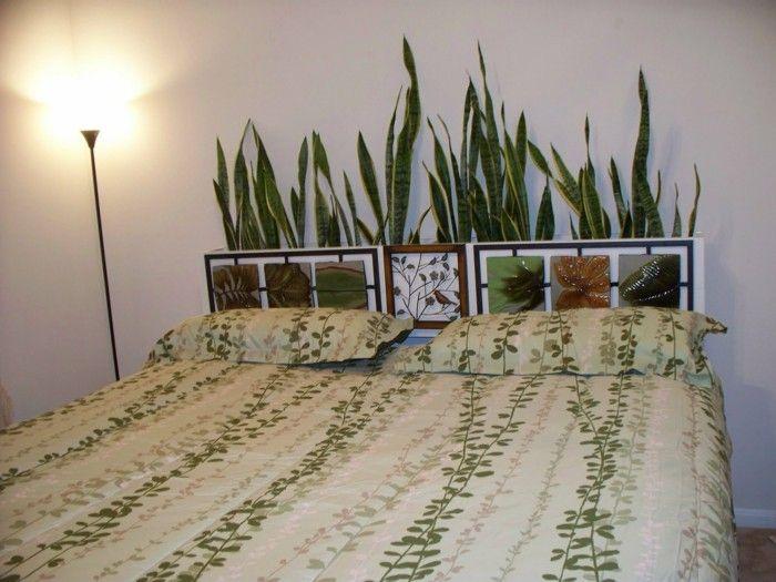 цветочный декор в спальне