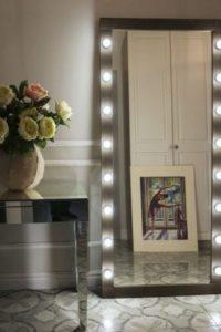 дизайн для создания зеркала с подсветкой