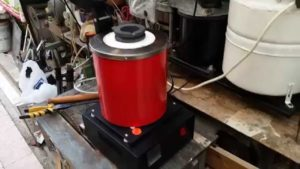 индукционная плита переделка в плавильную печь