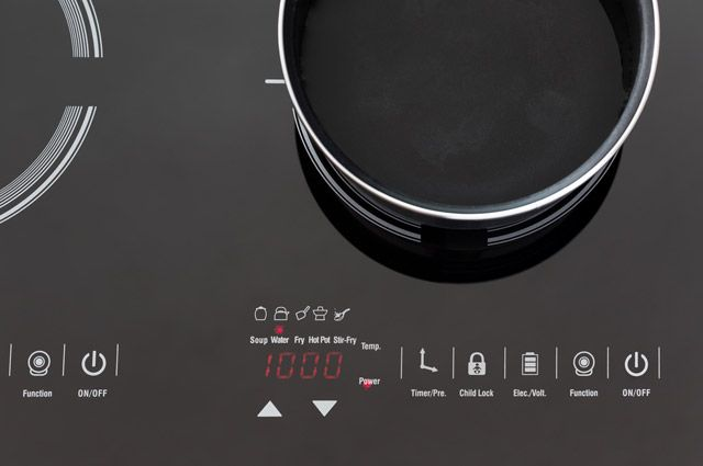 панель индукционной плиты