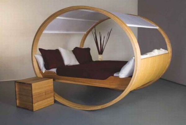 оригинальная форма кровати