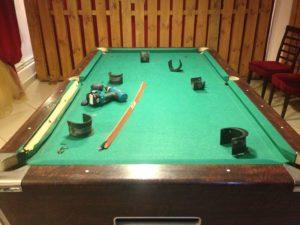 инструменты для создания бильярдного стола