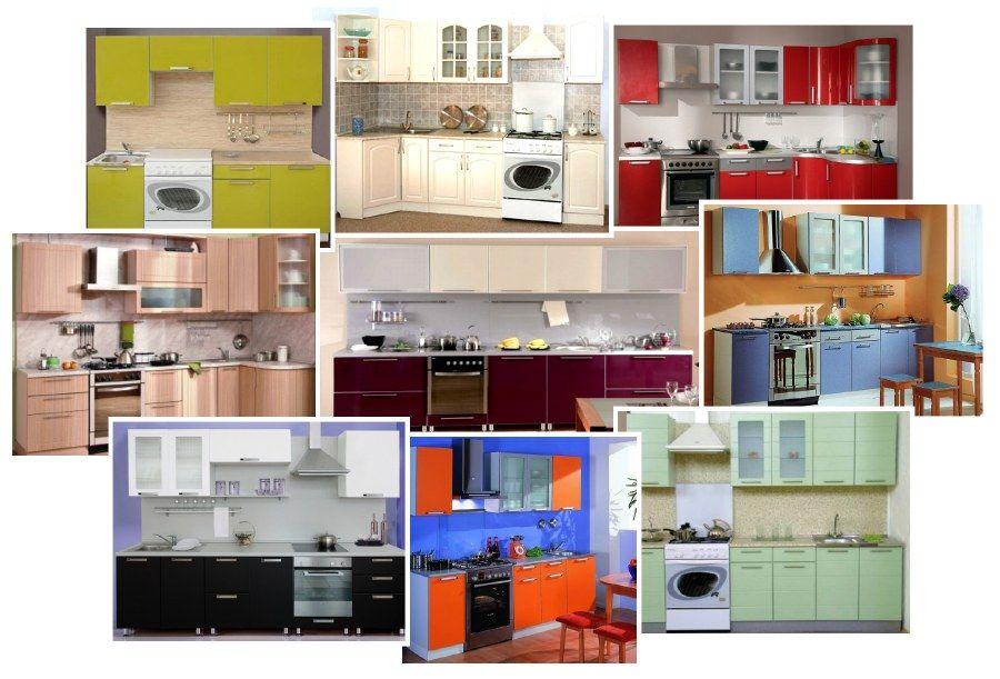 как выбрать цвет гарнитура на кухню