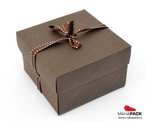 в качестве подарочной коробки