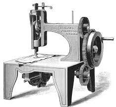 когда была создана швейная машина