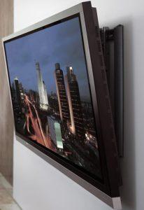 установленный телевизор