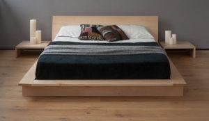 кровать подиум из бруса