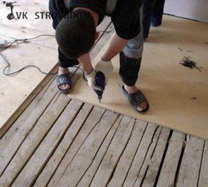 деревянная основа