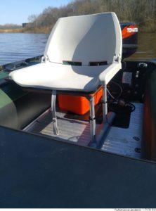 кресло в лодке