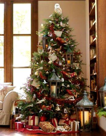 Наряженная елка