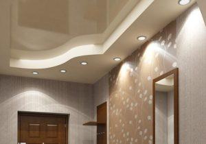 потолок для коридора