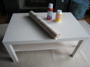 обклейка стола