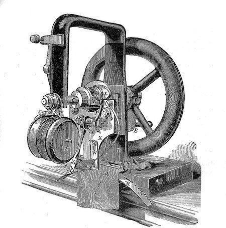 первая швейная машина, использующая принцип челночного стежка