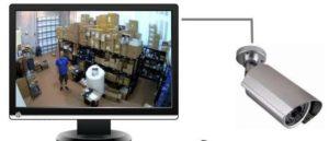 подключения видеокамеры к телевизору напрямую