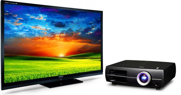 проектор или телевизор для дома что лучше