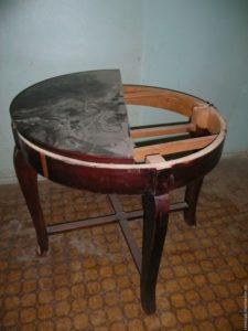 реставрация винтажного стола