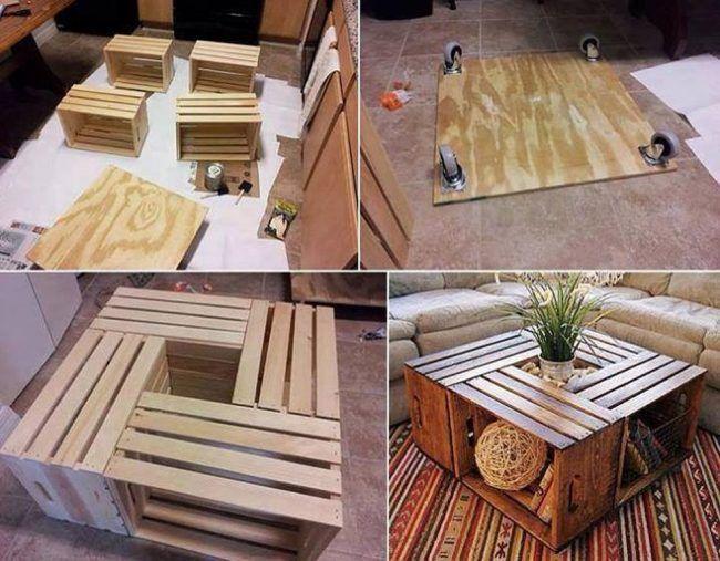 изготовление столика