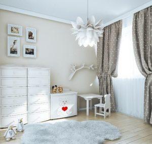 шторы в детской
