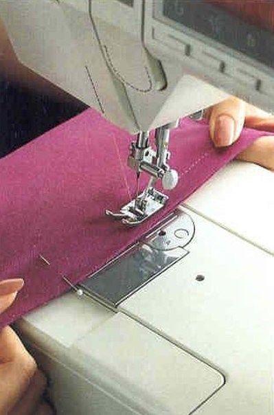шитье трикотажа